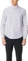 TOMORROWLAND Striped Poplin Long Sleeve Shirt
