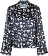 Ruthie key print pyjama top