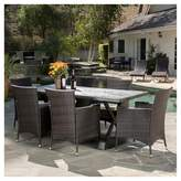 Christopher Knight Home Capri 7pc Dining Set with Cushions