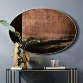 west elm Scenery Wall Mirror - Large Oval