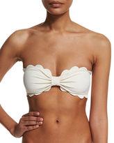 Marysia Swim Antibes Scalloped Swim Top