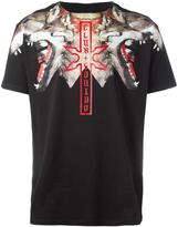Marcelo Burlon County of Milan 'Victor' T-shirt - men - Cotton/Polyester - L