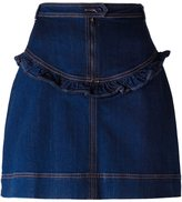 Manoush MANOUSH FRILL DETAIL DENIM SK