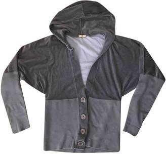 Jejia Grey Velvet Jackets