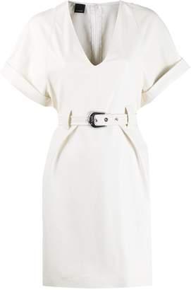 Pinko belted mini dress