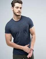 Jack Wills Ayleford Logo Pocket Slim Fit T-Shirt in Navy