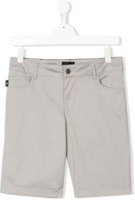 Emporio Armani Kids TEEN classic denim shorts