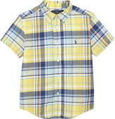 Ralph Lauren Checked cotton short-sleeved shirt 2-7 years