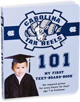 Bed Bath & Beyond University of North Carolina 101: My First Text-Board-Book