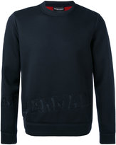 Emporio Armani logo embossed sweatshirt - men - Modal - XS