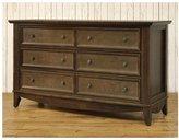 Franklin & Ben Arlington Double Wide Dresser- Rustic Brown