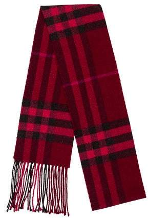 Burberry Knit Scarf Shopstyle