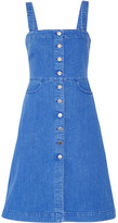Stella McCartney Linda Stretch-denim Dress - Mid denim