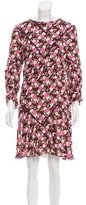 Anna Sui Printed Knee-Length Dress w/ Tags