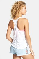 Billabong 'My Brand Is Better' Racerback Tank (Juniors) (Online Only)