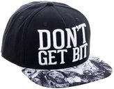 Bioworld AMC Walking Dead Don't Get Bit Black Snapback Walkers Baseball Hat Cap Licensed