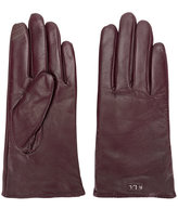 Lauren Ralph Lauren logo plaque gloves