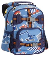 Pottery Barn Kids Pre-K Backpack, Mackenzie Blue Construction