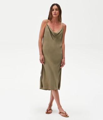 Michael Stars Pearl Satin Slip Dress
