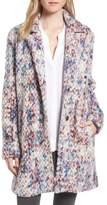 Steve Madden Women's Confetti Wool Blend Coat