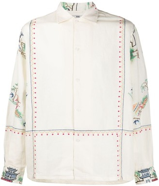 Bode Embroidered Long-Sleeved Shirt