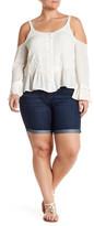 Jessica Simpson Forever Midi Short (Plus Size)