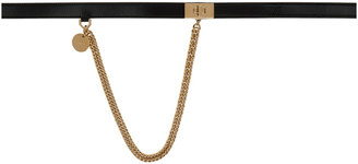 Givenchy Black Chain Belt