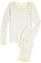 Ruby & Bloom Fitted Two-Piece Pajamas (Little Girls & Big Girls)