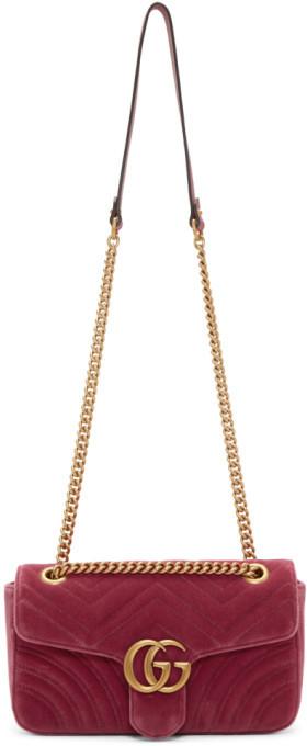 4c2a6ee6566e Gucci Bags Velvet - ShopStyle