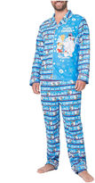 Asstd National Brand Frosty The Snowman Family Pajama Set- Men's