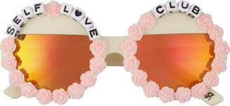 Rad + Refined Self Love Club Round Sunglasses