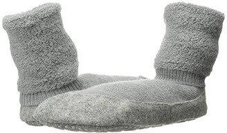 Falke Cosyshoe (Light Grey) Women's Crew Cut Socks Shoes