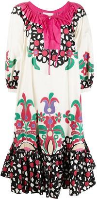 La DoubleJ Folk kaftan dress