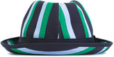 Comme des Garcons striped hat - men - Cotton - M