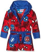 DC Comics Boy's Spiderman Mask Dressing Gown