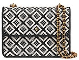 Tory Burch Robinson Woven-Leather Convertible Shoulder Bag