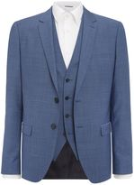 Hugo Alinwynshetlin Diamond Texture Three Piece Suit
