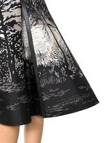 Marni Printed Bonded Silk Cotton Twill Skirt