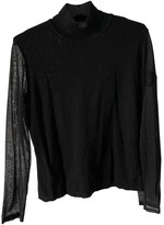 Versace Black Wool Knitwear for Women Vintage