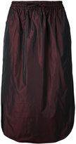 08sircus drawstring midi skirt - women - Polyester - 36
