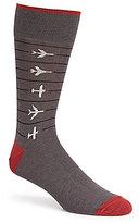 Johnston & Murphy Men s Airplane Socks