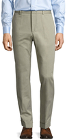 Gucci Solid Flat Front Chino