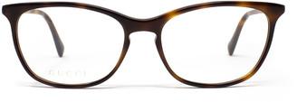 Gucci Gg0549o Havana Glasses