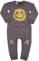 Rock Your Baby Baby Boy's Graffiti Grin Playsuit