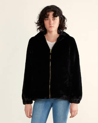 Juicy Couture Faux Fur Bomber Jacket