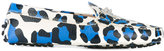 Tod's leopard print loafers - women - Leather/rubber - 39