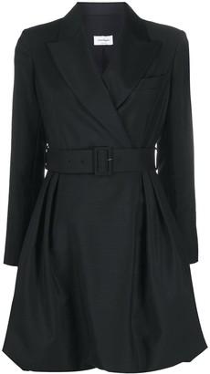 Salvatore Ferragamo Belted Blazer Dress