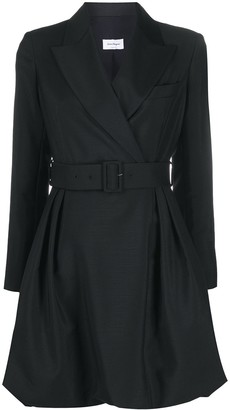 Salvatore Ferragamo belted blazer dress