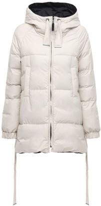 Max Mara Reversible Cotton & Nylon Down Jacket