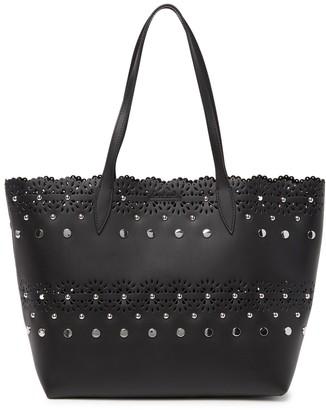 Rebecca Minkoff Structured Leather Tote Bag